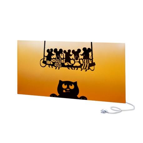 Panel ścienny UDEN-700 Cat & Mice Orange